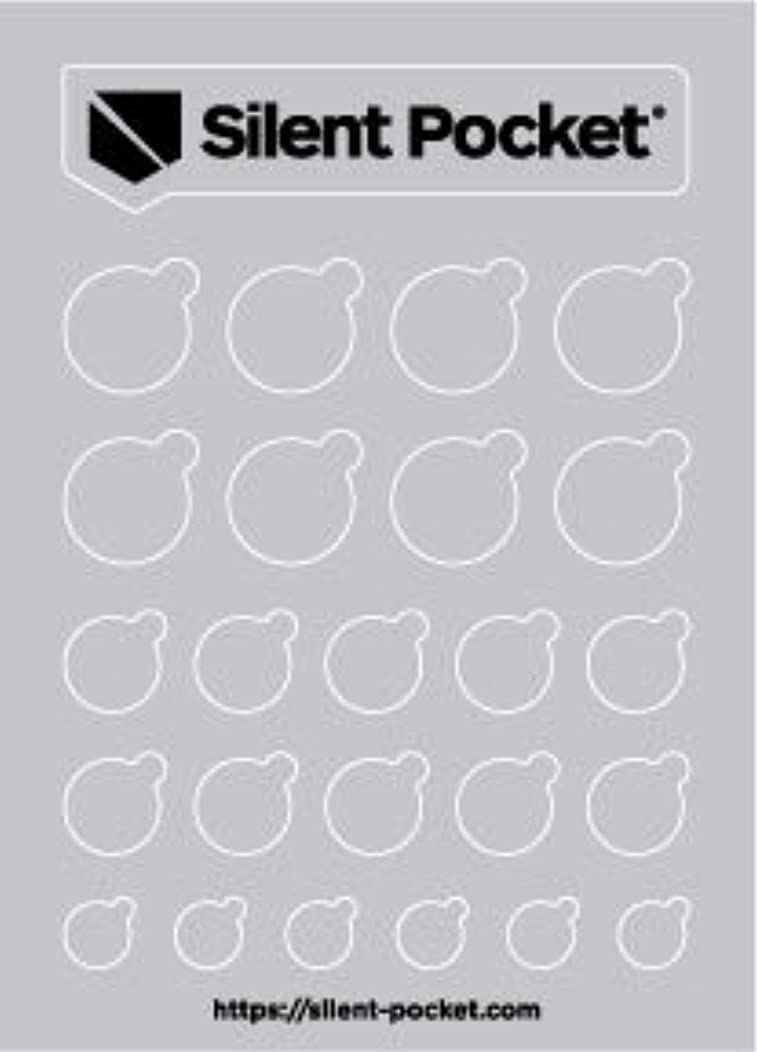 Silent Pocket Webcam Privacy Stickers for Camera Lens Privacy (Grey Out)