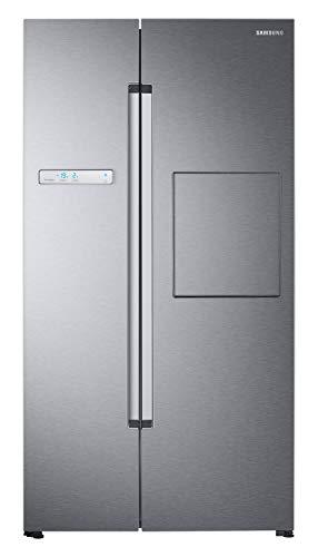Samsung 845 L Inverter Frost Free Side-by-Side Refrigerator (RS82A6000SL/TL, Ez Clean Steel)