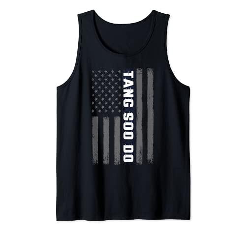 Tang Soo Do USA Amerikanische Flagge...
