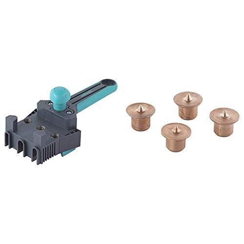 10 mm /& 2912000-4 marcadores de madera para espigar /Ø 8 mm Maestro gu/ía de ensamblaje de pl/ástico /Ø 6 Wolfcraft 4640000 8
