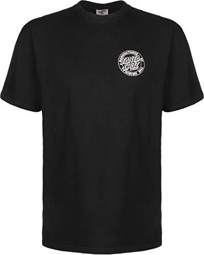 SANTA CRUZ Road Rider T-Shirt Black