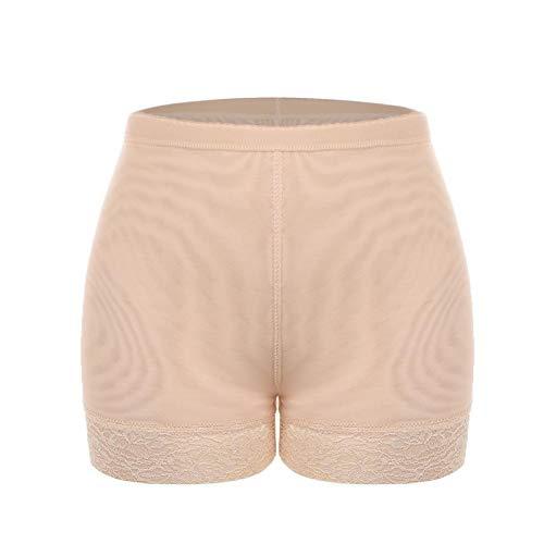 W.Z.H.H.H Catsiut Ropa Interior Femenina Culo Almohadilla de llenado de Control de Relleno Aplasin Shaper Falso Hip Panty (Color : Beige, Size : XXL)