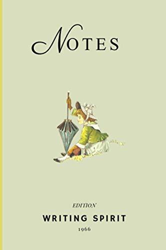 carnet de notes : fantaisie illustration: Cahier de notes sur papier crème – notebook – journal de bord - 100 pages lignées - format A5 – idée cadeau.