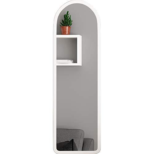 Lpf slaapkamer huis full-body spiegel wandbehang huis spiegel slaapstudenten voordelige laag geprijsd uiterlijk spiegel vloerbedekking spiegel klein kan worden opgehangen
