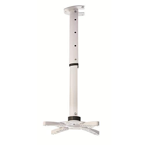Beamer / Projektor Deckenhalterung weiß ausziehbar von 40 bis 62cm 30° neigbar360° drehbar für LG PV150G
