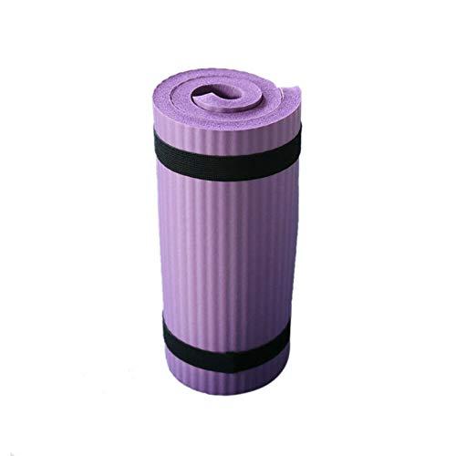 NIUPAN Yoga Kneepad 15MM Yogamat Grote Dikke Pilates Sport Fitness Pilates Fitness Mat Antislip Camping Yogamat