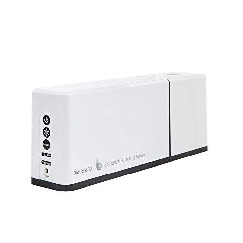 betterair - Biotica 800 - Purificateur d'Air Compact - Élimine à 99,99% les mauvaises Bactéries, Allergène, Pollens, Acarien, Moisissure - Procédé 100% Naturel - Traite Air, Surfaces et Objets - Blanc