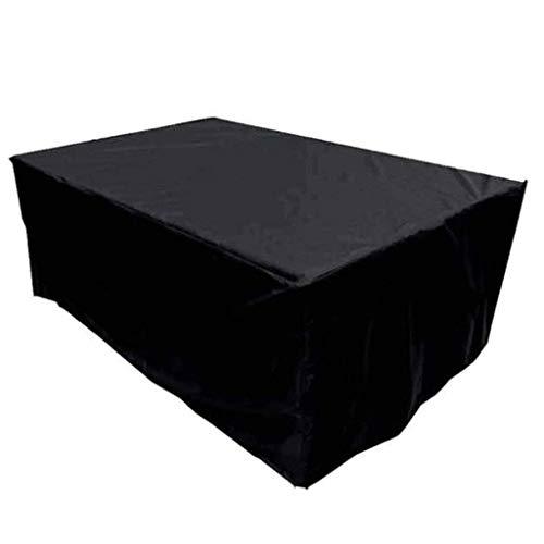 Accesorios para el hogar Fundas para muebles de jardín Impermeables 126; 126; 74cm Funda para muebles de patio Lona duradera A prueba de viento A prueba de polvo Mesa de picnic antienvejecimiento M