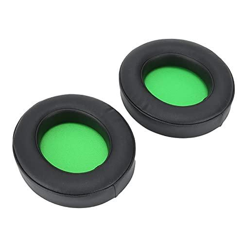 Almohadilla para La Oreja, Almohadilla para La Oreja Flexible para Equipos De Auriculares para Kraken Pro V2 / 7.1 V2(Verde)