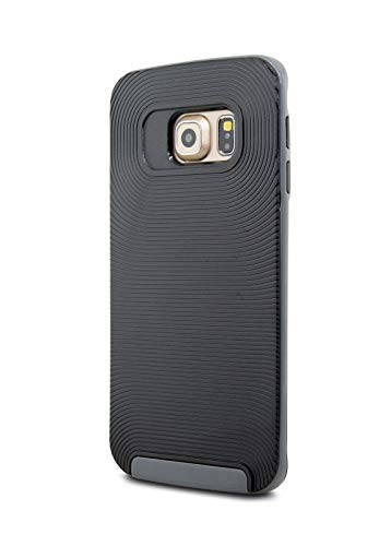 Robotek Case for Galaxy S6 Edge Case (Shock Proof Defender) Slim Cover Protection for Samsung Galaxy S6 Edge (Gray)