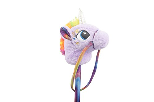 Linzy Toys 30' Unicorn Stick Horse with...