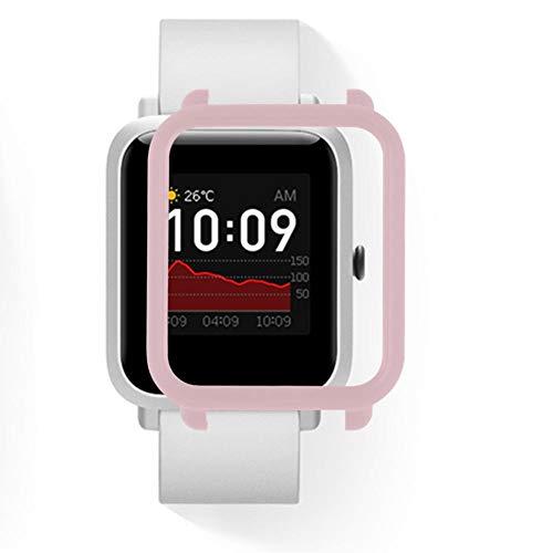 Mooderf Smart Watch Funda protectora para Amazfit Bip S (protección completa mate)