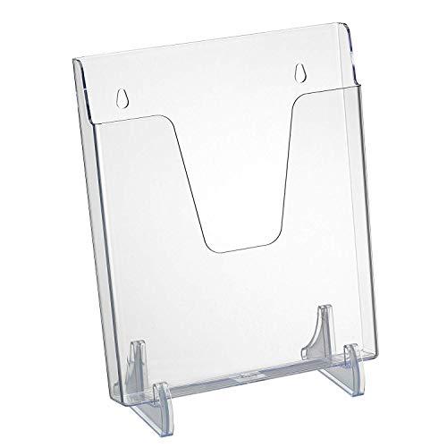 Acrimet Expositor para Folletos Vertical Transparente (Color Cristal)