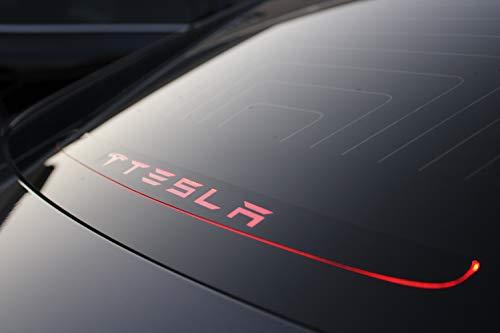 Heckscheibe Bremslicht Aufkleber für Tesla Modell 3 Dekor Aufkleber