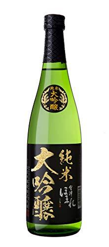 ほまれ酒造 純米大吟醸 極 黒ラベル [ 日本酒 16 日本 福島県 720ml 瓶 ボックス無し]