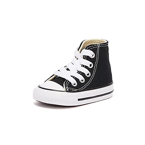 All Star Kids Shoes Black Canvas 7J231C