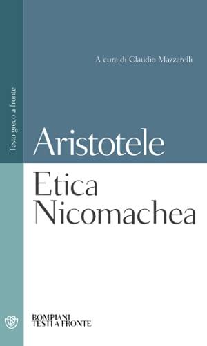Etica Nicomachea: Testo greco a fronte