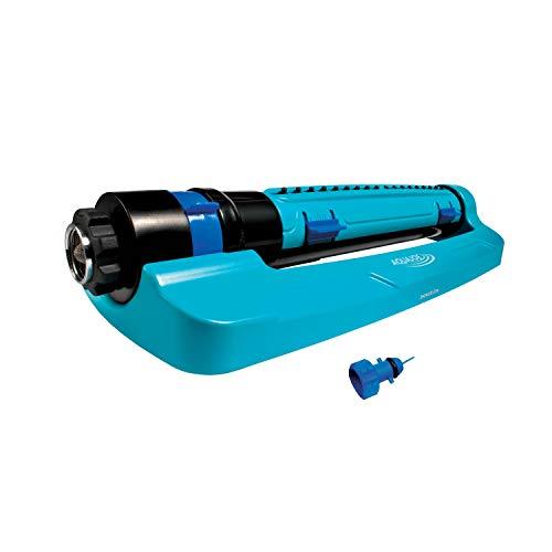 Aqua Joe SJI-TLS18 3-Way Turbo Oscillation Lawn Sprinkler, w/Range, Width, Flow Control