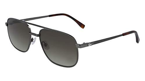 LACOSTE EYEWEAR L231S-047 Gafas, Steel, 57/18/140 para Hombre