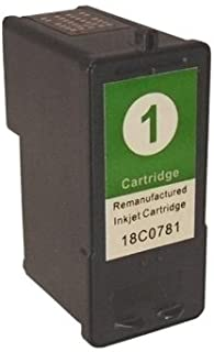 Compatible Replacement for Lexmark #1 18C0781 Color Ink Cartridge