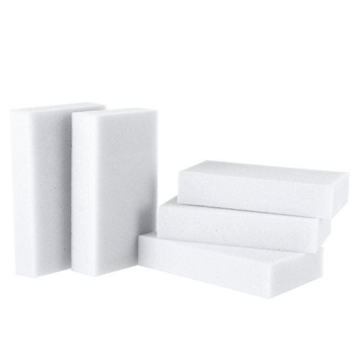 USMYTHA 100Pcs/lot Magic Eraser Melamine Cleaning Sponge Multi-Functional Foam Pads 10x6x2CM