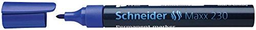 Schneider Schreibgeräte Permanentmarker Maxx 230, nachfüllbar, 1-3 mm, blau