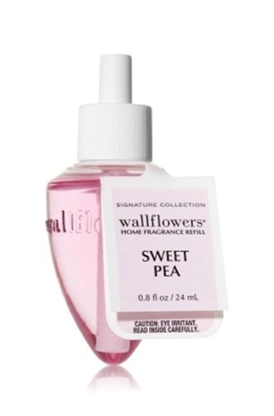 ハグパネル暖炉Bath & Body Works(バス&ボディワークス)スイートピー ホームフレグランス レフィル(本体は別売りです)Sweet Pea Wallflowers Refill Single Bottles [並行輸入品]