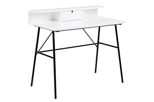AC Design Furniture Patxi Bureau Blanc 100 x 55 x 88,8 cm