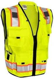 ML Kishigo S5000 Professional Surveyors Safety Lim Yellow - excellence Vest Max 47% OFF