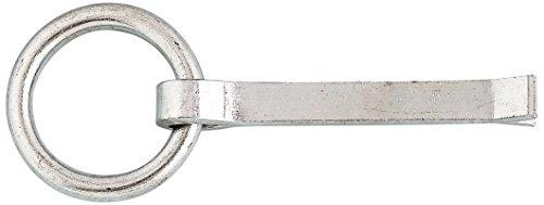 Chapuis 430/10X35Z Ringkloben - Verzinkter Stahl - 300 kg - Innendurchmesser 50 mm - Länge 35 mm