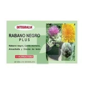 Rabano Negro Plus Integralia 200Ml.