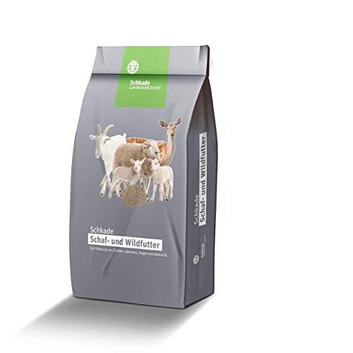 Schkade Landhandel GmbH Damwildfutter Wildfutter für Damwild, 5mm pelletiert 25 kg, ohne Gentechnik