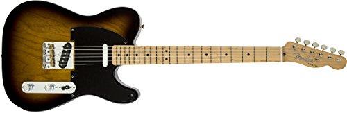 Fender 0141502303 Classic Player Baja Telecaster Maple Griffbrett 2-Color Sunburst E-Gitarre