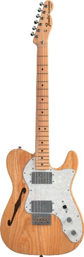 Fender Classic Series '72 Telecaster Thinline, Maple Fretboard - Natural