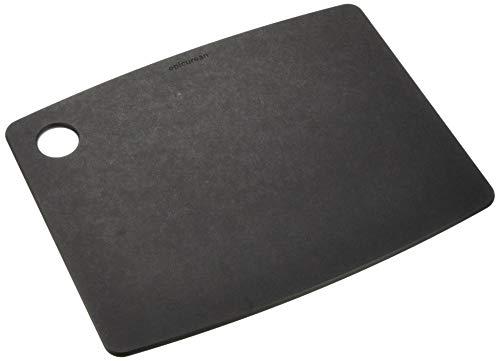 エピキュリアン 木製 まな板 カッティングボード M ブラック 食洗機対応 001-120902