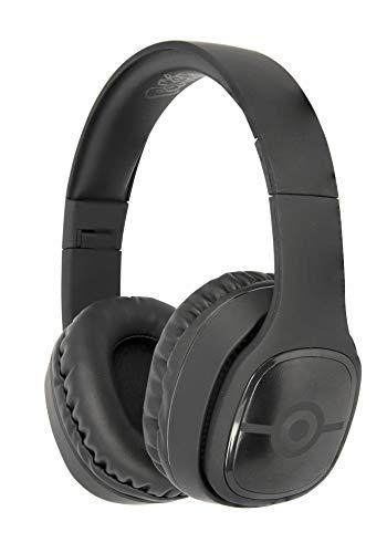 OTL Technologies TWEEN Bluetooth Kopfhörer Pokemon Pokeball (faltbar, gepolsterte Bügel, stylisches Comic Design, 30 Stunden Akkulaufzeit, für Jugendliche und Erwachsene), Schwarz