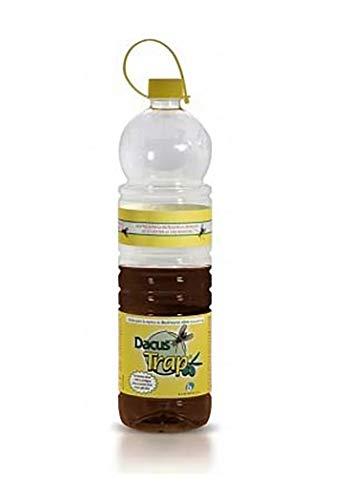 BIOIBERICA DACUS Trap Trappola Mosca dell olivo con Liquido attrattivo Naturale per la Bactrocera oleae - 12 Bottiglie