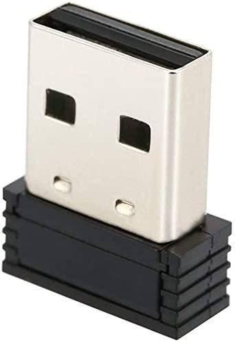 Onlyesh Adaptador de Enchufe USB Zwift Ant + Adaptador USB para Transporte Ant + portátil USB Stick para Garmin Forerunner 310XT 405