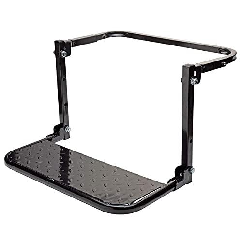 YNITJH Pedal de Coche,Paso de neumático portátil,Escalera para Puerta de Coche,Pedal Plegable para Coche/Parrillo/vehículo en Forma,Plegable para, hasta 150 kg