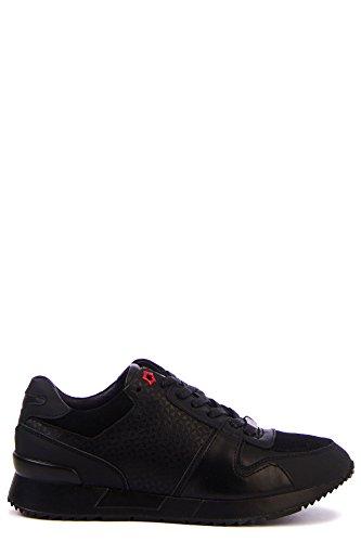 D-Rich - Zapatillas de Ante para hombre Blanco Negro , color...