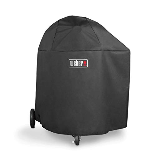 Weber 7173 Charcoal Grill Cover, Black