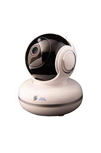 【 Newest Version】 FullHD 19201080P Wi-Fi Surveillance Camera Pan/Tilt/Zoom-Best Smart App, Wireless Security Camera-Night Vision, Motion Detection, Pet Camera, Video Baby Monitor iOS/Android, Wor