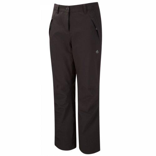 Airedale vrouwen stretch waterdichte broek, zwart, 8W 28 groot