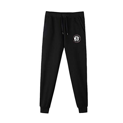 NBA Brooklyn Nets trainingsbroek, basketbal, joggingbroek, casual, comfortabel, losse team-logo-broek voor de jeugd.
