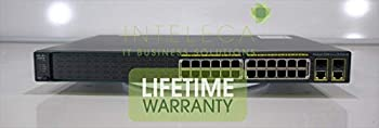 Cisco WS-C2960-24PC-S Catalyst 2960 24 10/100 Poe + 2 T/sfp LAN Lite Image