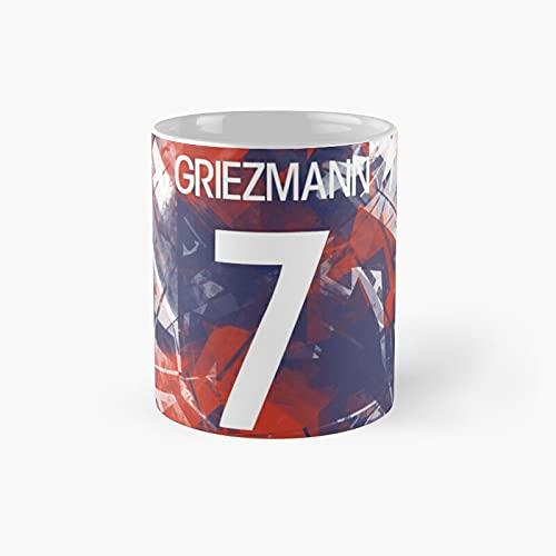 Antoine Griezmann Classic Mug - 11 Ounce For Coffee, Tea, Chocolate Or Latte.