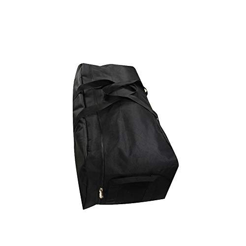 Bolsa de transporte multiimpermeable para bicicleta, asiento trasero, bolsa de transporte, bolsa de equipaje, bolsa para bicicleta, senderismo, actividades al aire libre L, Black-1, large