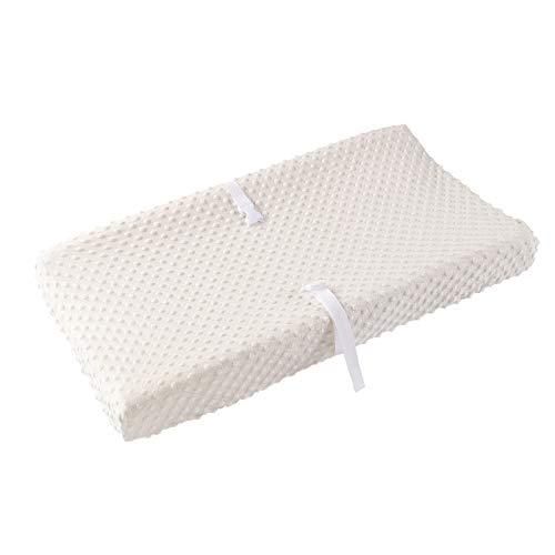 Baby Changing Pad Cover, Super Soft Minky Dot Diaper Changing Table Covers for Baby Girls and Boys, Ultra Comfortable, Safe for Babies, Fit 32