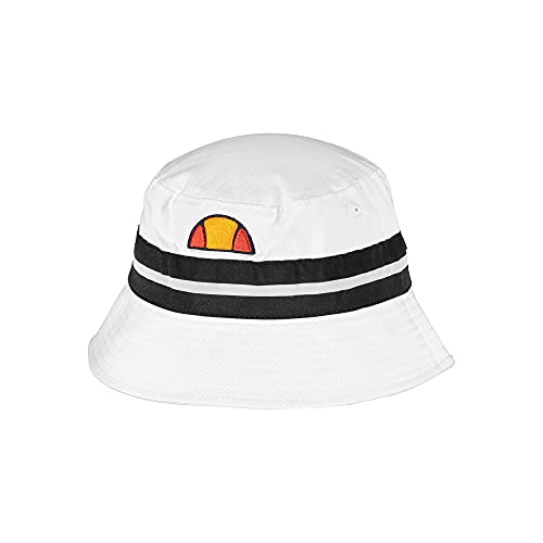 Ellesse - Bucket Hat Herren Fischerhut Logo, Weiß One size