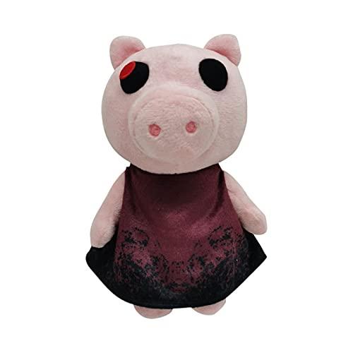 XOMT Juego Robloxing Piggy Plush Toys Animal Suave Peluche Juguetes Clowny Dolls Regalos para Niños 20Cm